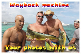 photos and video fishing charters Punta Cana