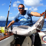 Blue Marlin fishing Punta Cana with captain Yustas Fortuna