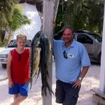 family fishing charter for mahi mahi with bigmarlin