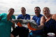 Nice barracuda USA anglers in Bavaro best fishing charter