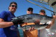 Very big Wahoo and Barracuda. Stan from USA and friends big game fishinig trolling Punta Cana