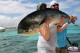 Jay and Brian from Texas caugh really big Mahi Mahi in Punta Cana in March 14 and cook in restaurant fresh fish