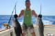 two marlins catches June offshore bavaro