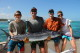 wihte marlin private fishing charter end of December Bavaro Punta Cana 2016 family