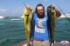 Two big Mahi Mahi with Ballyhoo bait