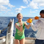 punta cana fishing with Tyler McLaughlin from Pinwheel fishing boat