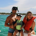 family private charter party boat and reef snorkeling