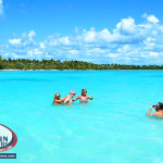 Natural swimming pool Punta Cana for party boat