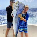 family fishing charters in Punta Cana mahi mahi trophey size Dominican Repiblic