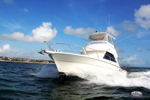 new boat Gone Dog for marlin fishing in Punta Cana, DR