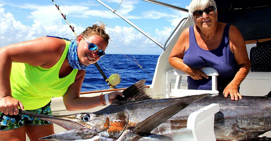 Blue Marlin deep sea Fishing Punta Cana