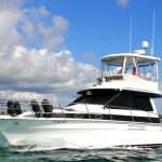 best Fishing boat Sherlock for deep sea fishing in Punta Cana 2018