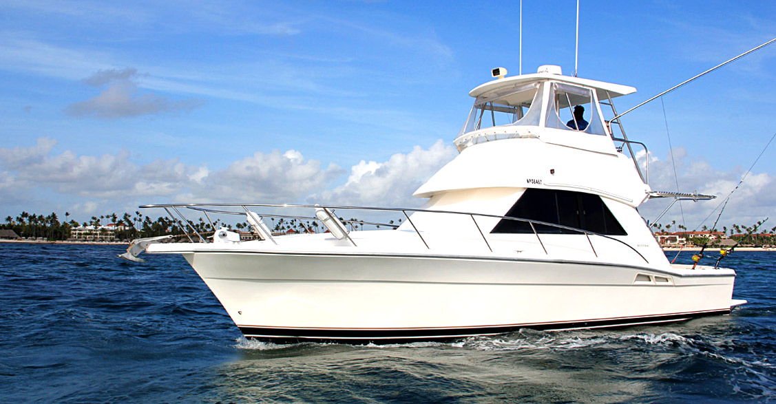 Big Game Fishing Boat Gone Dog 37' Punta Cana