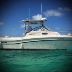 boat for spearfishing Punta Cana diving huting