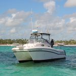 catamaran for speafishing in Punta Cana - Bavaro