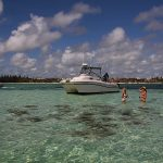 spearfisherman catamaran and snorkeling or diving in Punta Cana