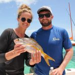 bottom fishing in Punta Cana for red snapper close to reef